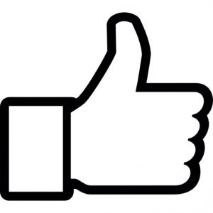 thumb up to like on facebook 318 37196