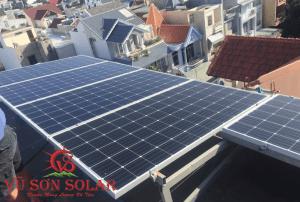 Điện mặt trời hòa lưới áp mái nhà