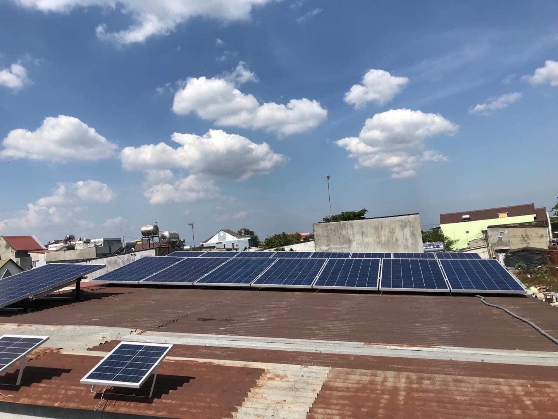 điện năng lượng mặt trời 5kwp