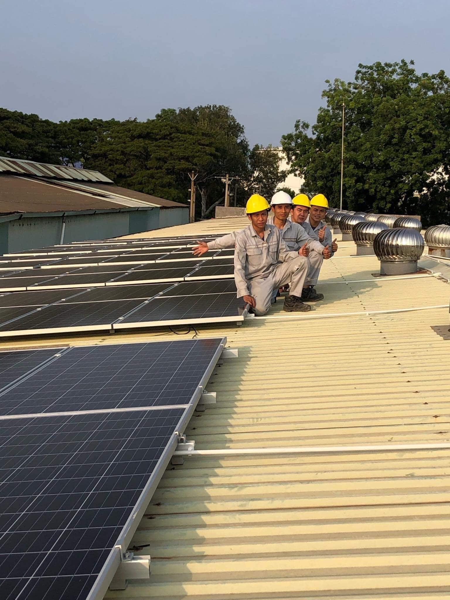 điện năng lượng mặt trời hòa lưới 50kwp