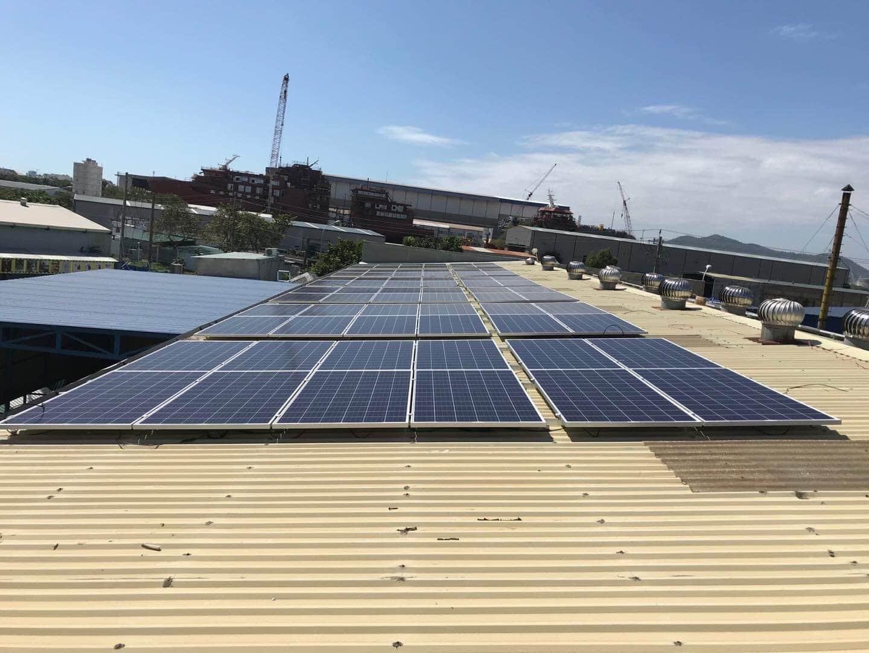 điện năng lượng mặt trời 50kwp