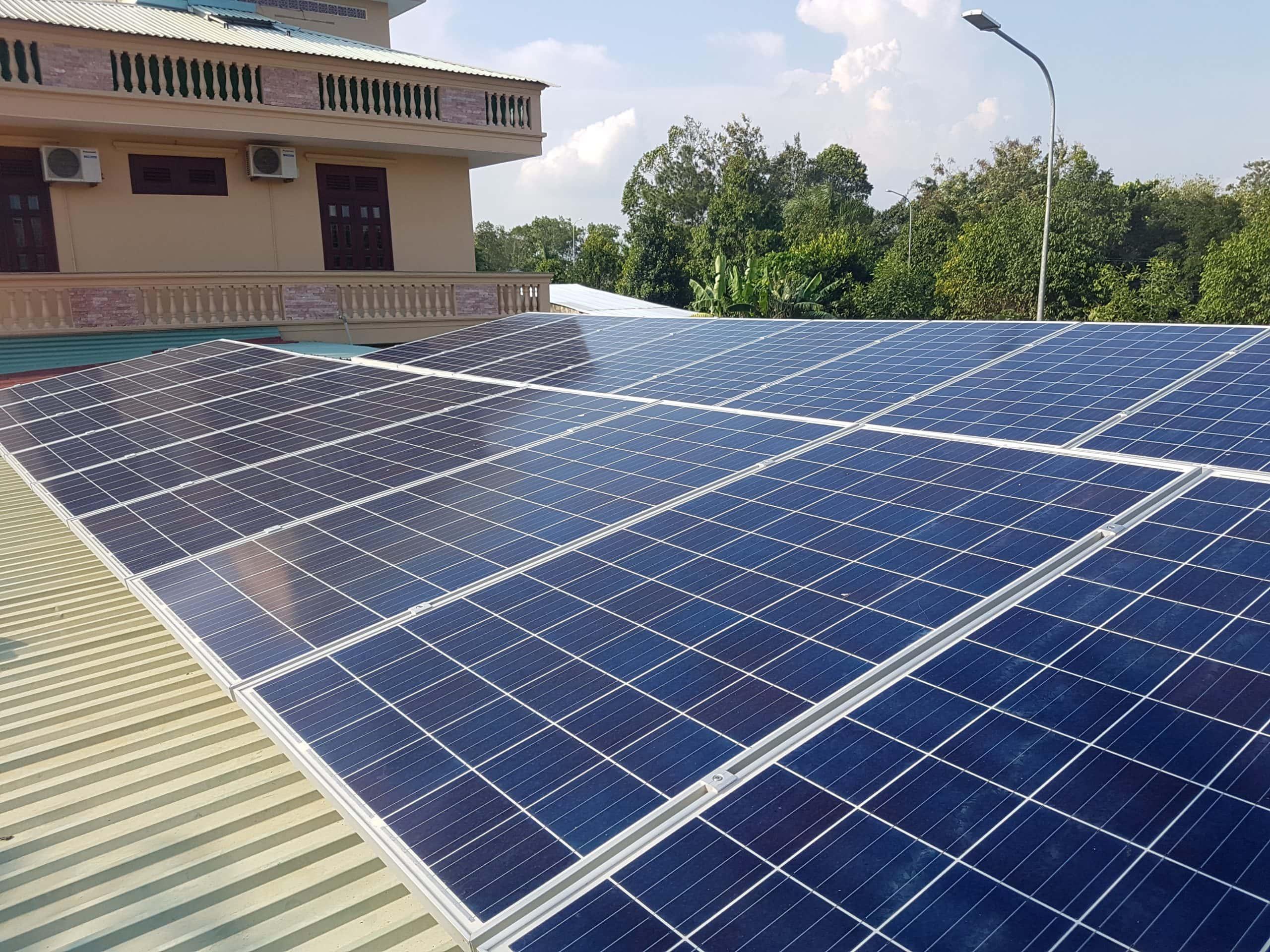 điện năng lượng mặt trời hòa lưới 8kwp