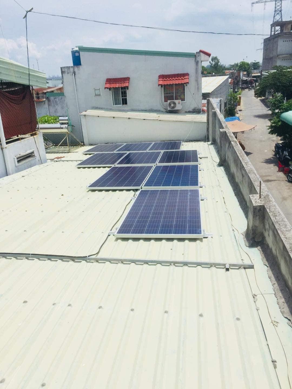 điện mặt trời 3kwp
