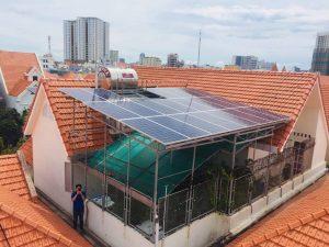 Cách xác định công suất điện mặt trời cho hộ gia đình