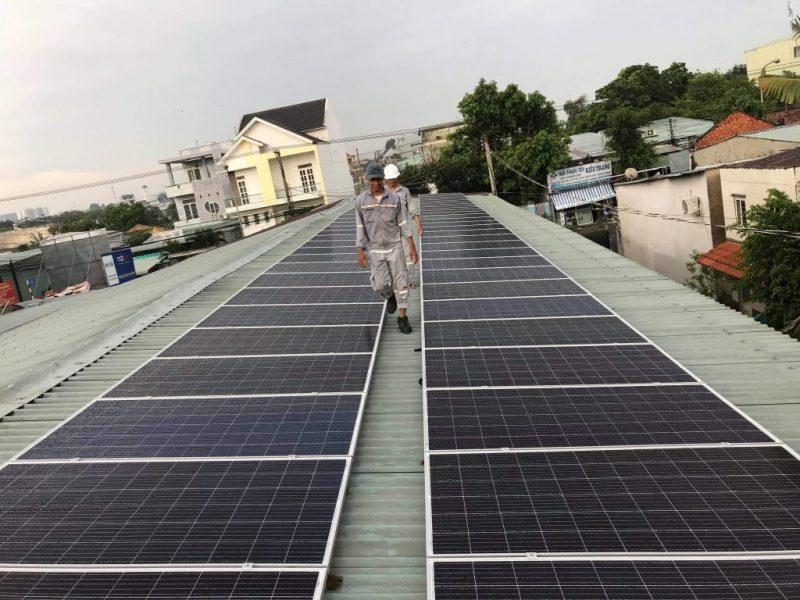 Dịch vụ lắp điện mặt trời dân dụng 20KWh