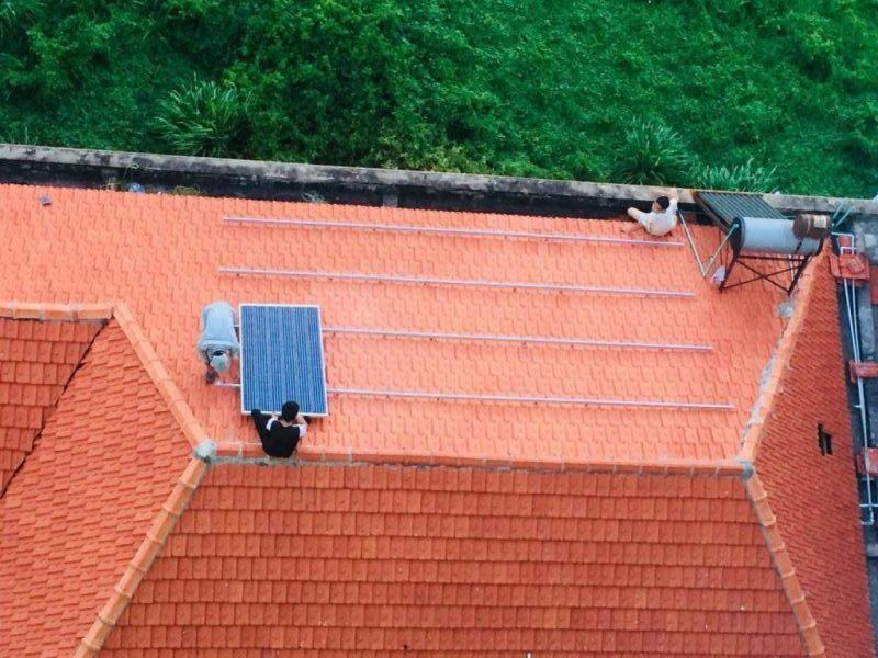 Dịch vụ lắp điện mặt trời dân dụng 3KWh cho chị An