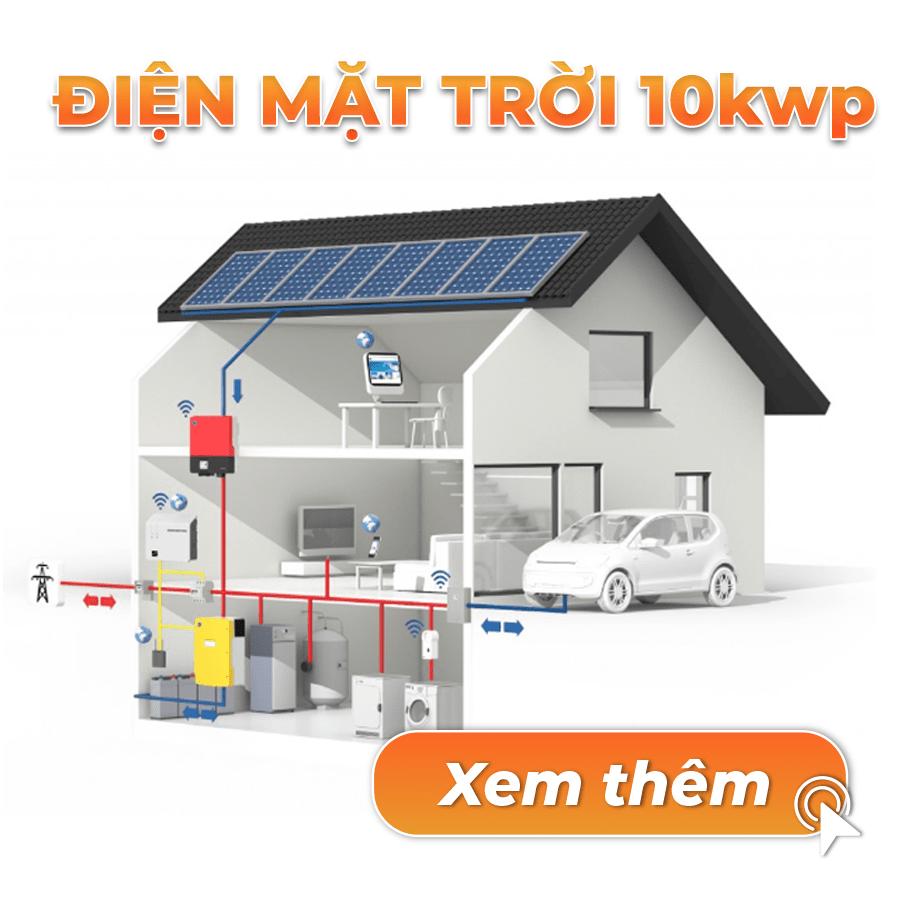 điện mặt trời 10kwp