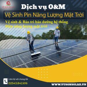 dịch vụ bảo trì hệ thống điện năng lượng mặt trời