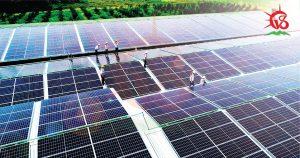 Lắp điện mặt trời mái nhà